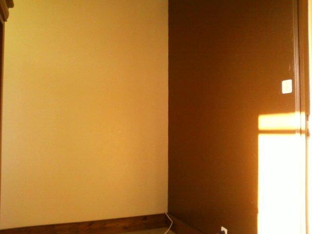 Peinture De Chambre Orange Marron Design De Maison